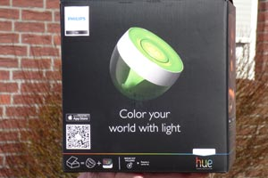 philips hue iris led farb lampe f r telekom smart home. Black Bedroom Furniture Sets. Home Design Ideas